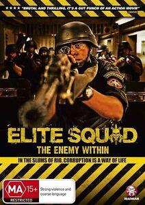 Elite Squad - The Enemy Within (DVD, 2012) - Region 4