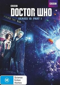 Doctor Who : Series 10 : Part 1 DVD, 2017, 2-Disc Set R4 New & Sealed