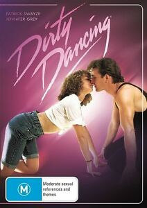 Dirty Dancing - Patrick Swayze NEW R4 DVD