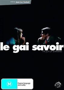 Le-Gai-Savoir-Jean-Luc-Godard-DVD-2009-BRAND-NEW-REGION-4