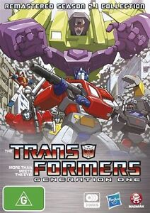 Transformers Generation 1 : Season 2 (DVD, 2012, 3-Disc Set)-FREE POSTAGE (rare