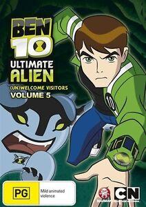 Ben 10 - Ultimate Alien : Vol 5 (DVD, 2012) New Region 4