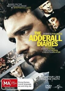 The Adderall Diaries (DVD, 2016) NEW