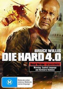 Die Hard 4.0 (DVD, 2007) - NEW