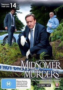 Midsomer Murders : Season 14 : Part 1 (DVD, 2011, 2-Disc Set), NEW REGION 4
