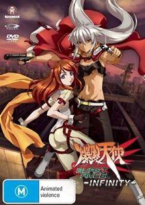 Burst Angel: Infinity (DVD, 2008) Brand New, Genuine & Sealed  - Free Post D56
