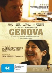 GENOVA-COLIN-FIRTH-CATHERINE-KEENER-GENUINE-R4-DVD-NEW-SEALED-DRAMA-SUPERNATURAL