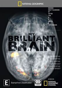 National Geographic - My Brilliant Brain (DVD, 2010, 3-Disc Set), NEW REGION 4