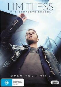 Limitless : Season 1 (DVD, 6-Disc Set) NEW