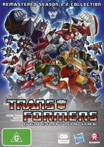 Transformers Generation 1 : Season 2 : Part 2 (3-Disc Set) Brand New!!