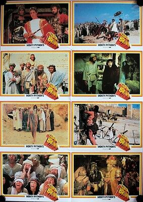 Monty Python's Life of Brian Original 1980 German Lobby Card  Poster set of 8