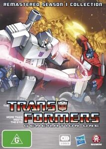 Transformers Generation 1 : Season 1 (DVD, 2012, 3-Disc Set)-FREE POSTAGE