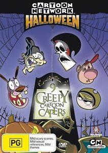 Cartoon Network Halloween - Nine Creepy Capers : New Kids DVD