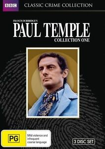 Paul Temple : Collection 1 (DVD, 2012, 3-Disc Set) Brand New, Genuine D55