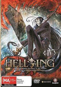 Hellsing Ultimate : Vol 4 (DVD, 2008) Brand New & Sealed Region 4 DVD - D35