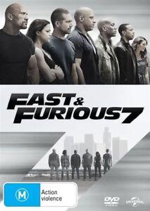 Fast & Furious 7 (DVD, 2015)