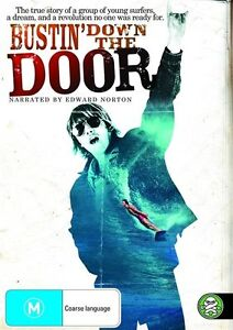 Bustin' down the Door (DVD, 2009, 2-Disc Set) New & Sealed