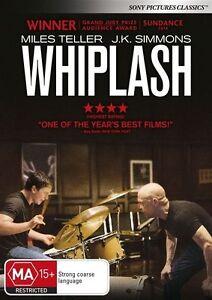 Whiplash : NEW DVD