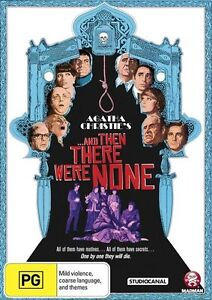 Agatha Christie's And Then There Were None (1974) DVD R4 New & Sealed