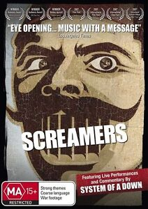 System Of A Down - Screamers (DVD, 2010)