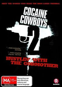 Cocaine Cowboys 02 - Hustlin' With The Godmother (DVD, 2009)EX RENTAL DISC ONLY