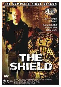 The Shield : Season 1 (DVD, 2004, 4-Disc Set) NEW