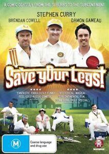 SAVE YOUR LEGS, STEPHEN CURRY, BRENDAN COWELL, DAMON GAMEAU, REGION 4, BRAND NEW
