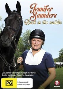 Jennifer Saunders - Back In The Saddle (DVD, 2013) Brand New & Sealed R4 D147