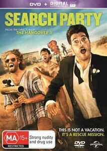 Search Party (DVD, 2015 NO UV) Brand New Sealed in Packaging Free Postage