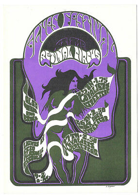 The RETINAL CIRCUS The Loyalists, Ectoplasmicassualt 1968 POSTCARD
