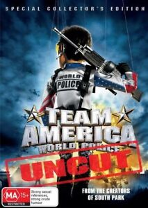 Team America World Police: Uncut (DVD, 2009)  R4..NEW & SEALED   D3124