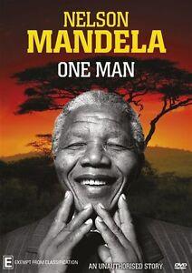 Nelson Mandela - One Man NEW R4 DVD