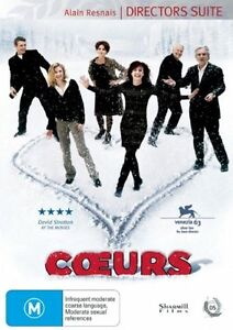 Coeurs DVD NEW French (English subtitles)