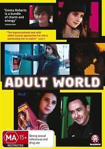 Adult World NEW R4 DVD