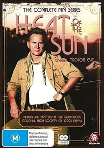 Heat Of The Sun-The Complete Mini Series(DVD,2012, 2-Disc Set)-FREE POSTAGE
