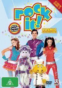 Rock It Cosmic Adventures - New/Sealed ss DVD Region 4