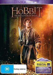 Hobbit-The-Desolation-of-Smaug-DVD-Ultraviolet-VG-Condition-Region-4