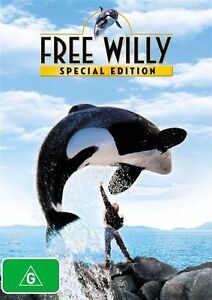 Free Willy DVD NEW