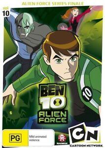 E38 BRAND NEW SEALED Ben 10 - Alien Force : Vol 10 (DVD, 2010)