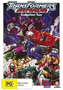 TRANSFORMERS-ARMADA-COLLECTION-2-New-amp-NOT-Sealed-Rating-PG-Region-4