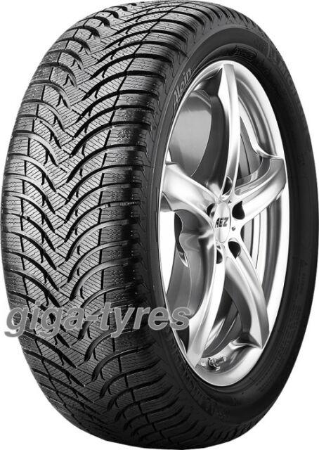 4x WINTER TYRE Michelin Alpin A4 225/55 R17 97H M+S BSW AO