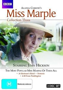 Agatha Christie's Miss Marple : Collection 3 (DVD, 2010, 3-Disc Set)-FREE POST