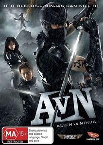 Alien Vs Ninja (DVD, 2011) Brand New & Sealed Region 4 DVD - Free Postage D33