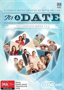 It's A Date : Series 1 - 2 DVD - NEW & Sealed - R4 ABC Rove Comedy its