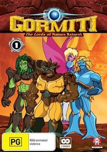 Gormiti Collection 1 - The Invincible Lords of Nature Return DVD NEW