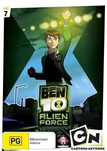 Ben 10 - Alien Force: Vol 7 (DVD, 2010), NEW REGION 4