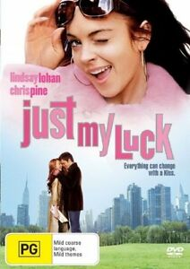 JUST MY LUCK - LINDSAY LOHAN. LIKE NEW, R4
