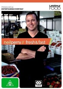 Neil Perry -Fresh & Fast (DVD, 2011, 2-Disc Set)-REGION 4-Brand new-Free postage