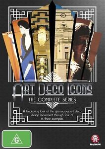 Art Deco Icons - The Complete Series (DVD, 2014) - Region Free
