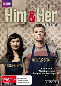 Him & Her : Series 2 (DVD, 2013, 2-Disc Set)